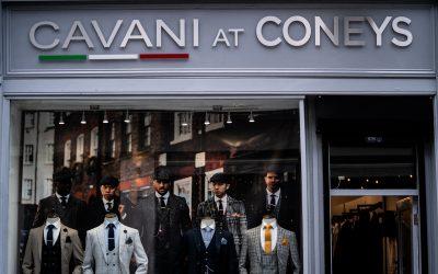 Cavani at Coneys – Shop Front