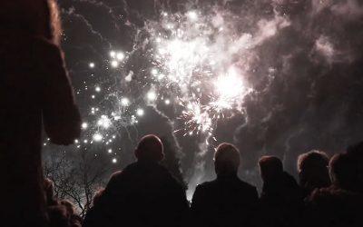 Healing Manor Fireworks